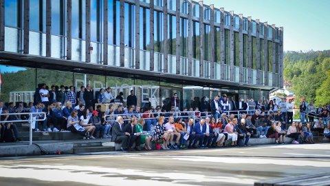 Tirsdag er det studiestart på Universtitetet i Sørøst-Norge. Her fra Studiestart 2017.