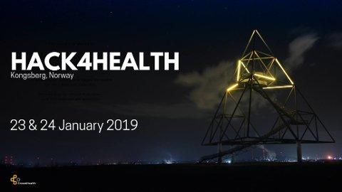KONKURRANSE: Konkurransen Hack4Health arrangeres for første gang i Kongsberg 23-24 januar. Konkurransen går ut på å finne den mest innovative løsningen på et helse-teknologisk problem.