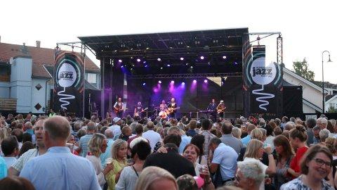 GOD STEMNING: Kongsberg Jazzfestival får 2,5 millioner kroner fra Buskerud fylkeskommune i år.