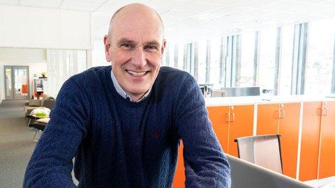 TRIVES SOM STUDENT: Eiendomsdirektør Geir Øystein Andersen tar ledelsesstudier ved siden av jobben i KKE.