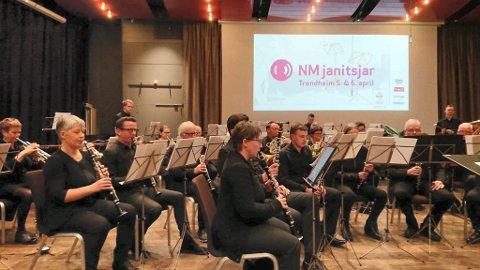 GOD INNSATS: Kongsberg byorkester rykket ned fra tredje til fjerde divisjon i helgen.