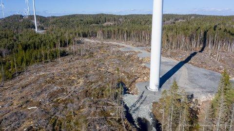 NEI: Mer enn 50 lokale organisasjoner har samlet levert et kritisk høringssvar til forslaget om vindmølleutbygging i Vestfold og Telemark.
