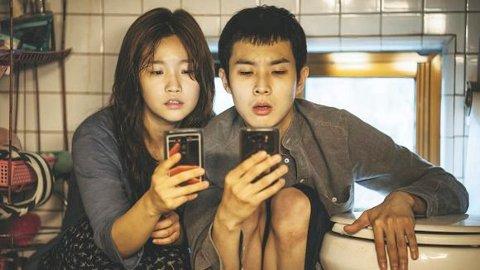 SPENNENDE: Sør-Koreanske «Parasitt» er en soleklar Oscar-favoritt.