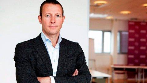GA RÅD: Organisasjonen Virke Handel er blant dem som har rådført Kongsberg Næringsforum i saken om Vinmonopolets plassering i Kongsberg. Her ved direktør Harald Jachwitz Andersen.