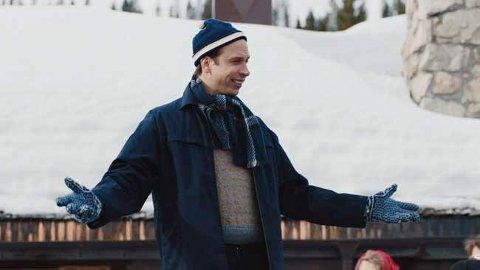 KOMEDIE: Herbert Nordrum spiller Poppe i «Fjolls til fjells».