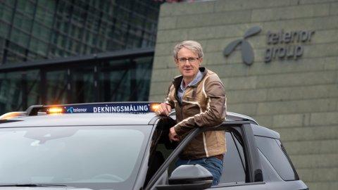 DEKNINGSDIREKTØREN: Bjørn Amundsen er dekningsdirektør i Telenor