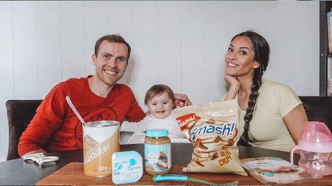 TikTok-familien: Just Andreas Groven Salvesen og Elizabeth Salvesen har hatt stor suksess med å dele glimt av familiehverdagen på sosiale medier det siste året. De er opptatte av å spre glede, men ønsker også å gi et ærlig bilde av hverdagen.