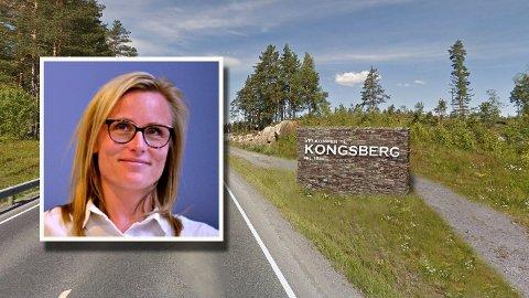 Line Spiten fra Høyre var tydelig oppgitt under formannskapsmøtet, og ønsket å legge skiltsaken død.
