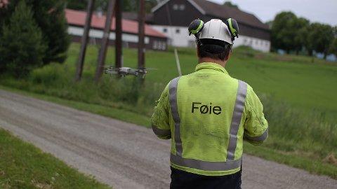 Selskapet mener i en pressemelding at Føie gir et godt bilde på strømnettet som er tett sammenvevd på kryss og tvers.