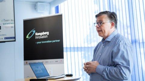 PROSJEKTLEDER: Lars Lyshaug leder prosjektet der arbeidet med å videreutvikle batteriteknologi.