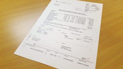 FIRE GANGER - IKKE TO: Fra og med i år fordeles fakturaen fra Viva på fire innbetalinger i året. FOTO: BENEDIKTE HÅKONSEN