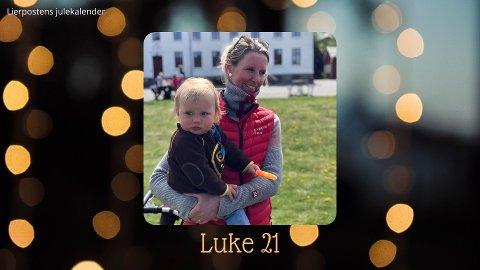 Luke 21: Marte Bergsland (her med Herman (2) på armen).
