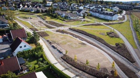 PARK: Det har blitt gjort en rekke tiltak på Brånåsdalen avfallsdeponi, og parken nærmer seg ferdig.