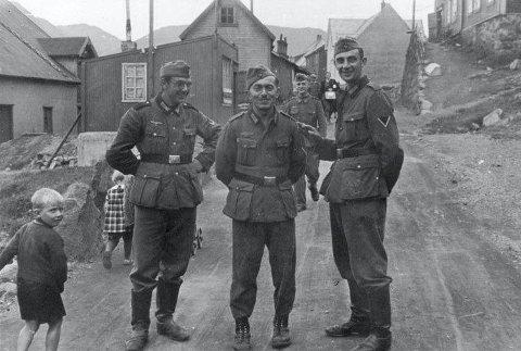 SolDATER: Tyske soldater i Finnmark.