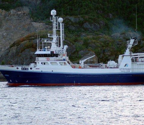 Nei: Havfisk ASA får nei på søknaden om å flytte tråleren «Stamsund» til Finnmark Havfiske. Tråleren har leveringsforpliktelse på Melbu.
