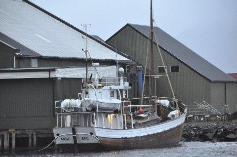 ANNE BRO: Denne gamle kystbåten blir i løpet de nærmeste dagene også lyssatt som en del av prosjektet Lysets By.