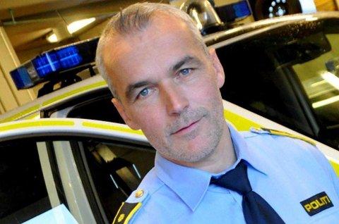 Politistasjonssjef Tor Håvard Bentzen.