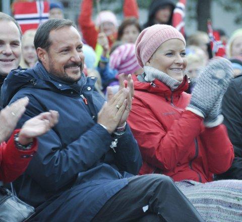 Besøk: Kronprinsparet i Lofoten.