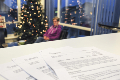 Karin Hansen har fått svar fra fylkeslegen. Hun skal nå forsøke å få en fin advent og jul.