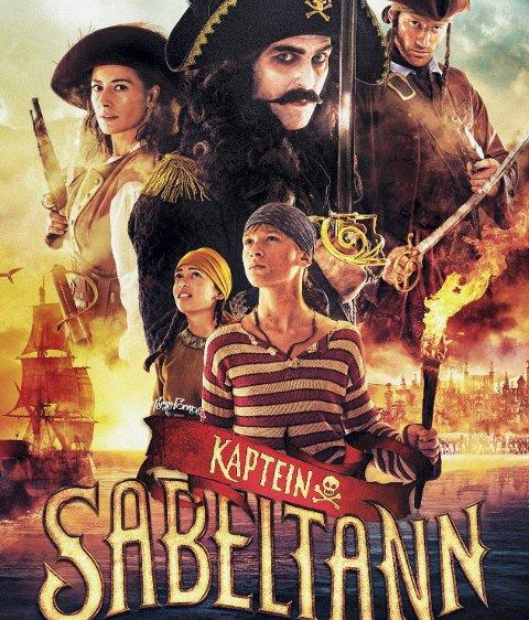 MEST POPULÆR: Kaptein Sabeltann-filmen var den mest besøkte filmen på Leknes i 2014.