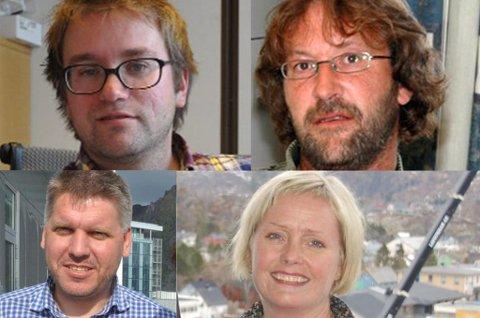 Ørjan Arntzen (Vestvågøy SV),  Bjørn Jensen (Moskenes SV), Marius Jøsevold (Leder Nordland SV), Hilde Sofie Aasgaard (Vågan SV).