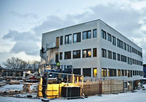 Åpner: Torsdag åpner Lofotleger sine nye lokaler i Storgata.