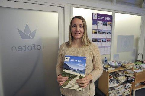 Destination Lofoten: Salg- og produktansvarlig Sissel Hansen i Destination Lofoten.Foto: Knut Johansen
