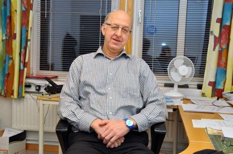 Blest: Leder Gunnar Skoglund i Blesthallen AS.
