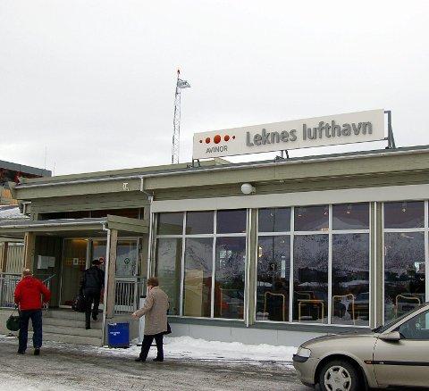Leknes lufthavn er en av ni lufthavner som Lo Stat har på lista i en eventuel streik om ei uke.