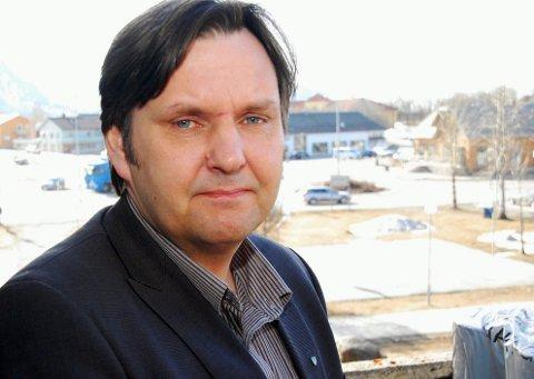 Vestvågøyordfører Jonny Finstad.