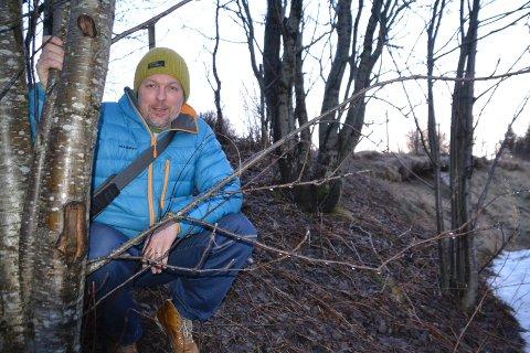 Folkehelsekoordinator i Vestvågøy, Hans Kristian Dolmen.