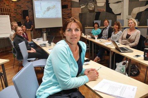 Friluftskoordinator i Lofoten, Karianne Steen.