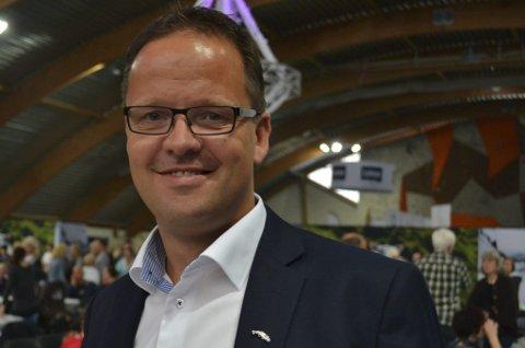 Syk, men glad: Administrerende direktør Sigvald Rist i Lofotprodukt.Foto: Karin P. Skarby
