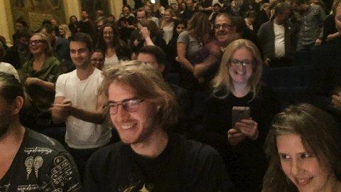 Engasjert: Publikum likte foredragene.