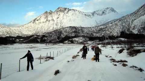 Billigere: Turløypa i Sydalen ble billigere enn antatt. Likevel blir tilskuddsbeløpet redusert på grunn av lovverket. Foto: PRIVAT.