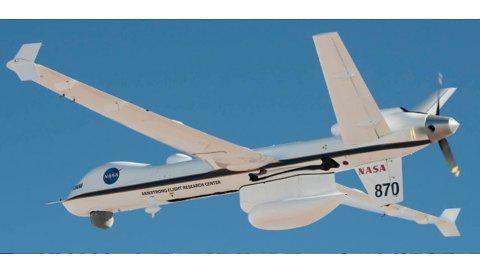 Det er  droner av denne typen NNDC tenker seg på Værøy.,