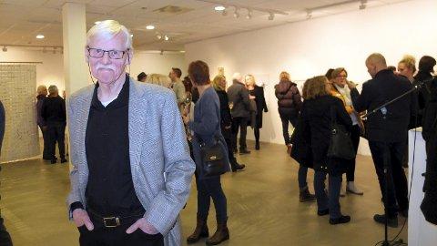 Hedres: Kunstner Dagfinn Bakke hedres med internasjonal pris for sitt virke.