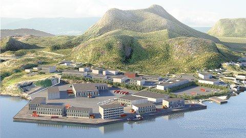 Store muligheter: Slik ser Norconsult for seg en utvikling i Osan Syd i framtida.