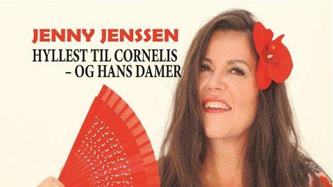 KONSERT: 25. januar står Jenny Jenssen på scenen i Meieriet kultursenter