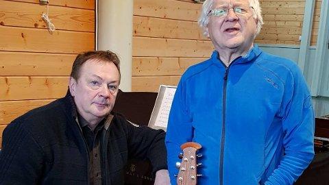 KONSERT: Kolbjørn Bugge og Andrey Pirozhkov inviterer til konsert lørdag.