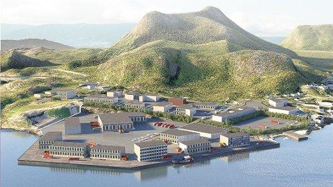 Store muligheter: Slik ser Norconsult for seg en utvikling i Osan Syd i framtida. Foto: Norconsult