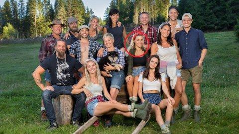 Farmen: Andrea Badendyck var i fjor en av deltakerne i Farmen. Hun er også kjent for bloggen sin. Her sammen med resten av deltakerne i realityserien.