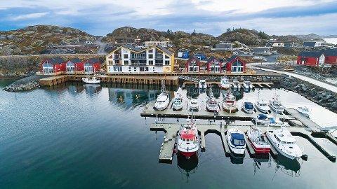 Ballstad: For  4 590 000 kroner kan man sikre seg fritidsboligen på Ballstad.