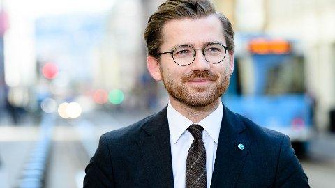 Klima- og miljøminister Sveinung Rotevatn. Pressefoto fra Regjeringen.