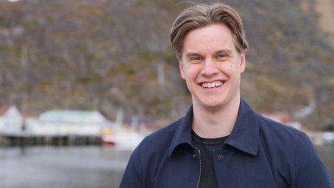 KLIMASAKEN: Høyres tredjekandidat, Johann Martin Krüger, er ikke overrasket over unges svar om klima og partivalg.