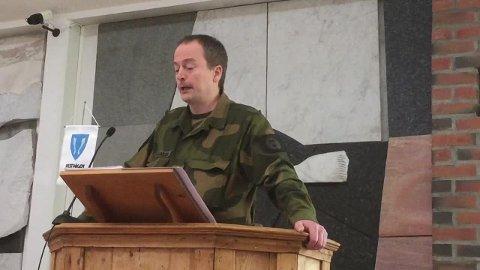 Bjørn Ragnar Larsen, områdesjef og kaptein for HV-området Lofoten.