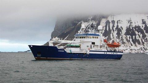 SJØMÅLINGSFARTØY: Kartverkets flåte består av moderfartøyet MS Hydrograf og arbeidsbåtene MB Lomvi og MB Havelle.