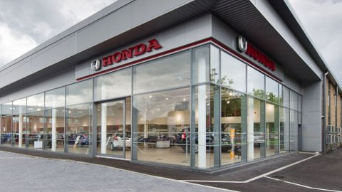 En rekke norske Honda-forhandlere er på vei ut. Det skjer samtidig som merket er inne i en svært tung periode her hjemme. I fjor sank markedsandelen helt ned til 0,6 prosent. Illustrasjonsfoto: Newspress