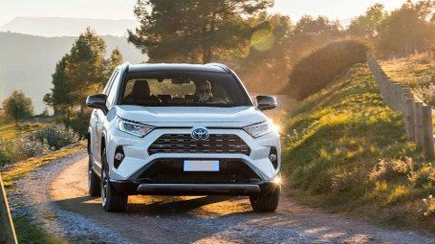 Nye RAV4 fra Toyota er en av flere nye modeller som bidrar til hybridsuksessen.