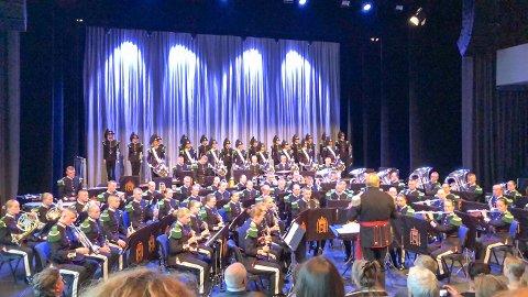 Festkonserten i Meieriet Lofoten kulturhus i Svolvær.